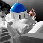 'Blue Domes' - Greek Orthodox Churches of the Greek Cyclades Islands - 10 by Paul Williams