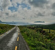 Seascape outside Dunquin, Dingle, Co Kerry by John  Carey