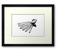 Spoon Fan Framed Print