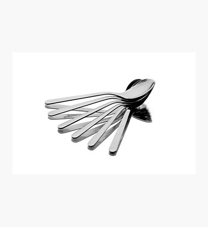 Spoon Fan Photographic Print