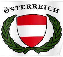 austria  Autriche wien Österreich Poster