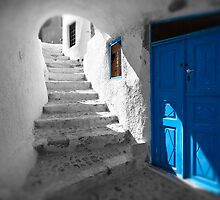 'Blue Domes' - Greek Orthodox Churches of the Greek Cyclades Islands - 11 by Paul Williams