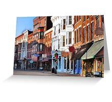 Main Street ~ Galena, Illinois Greeting Card