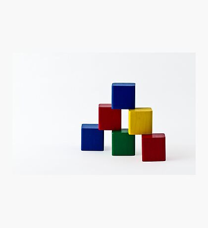 Elementary Colors Photographic Print