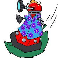 Dalek on the wind by joshatomic