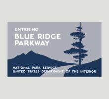 Blue Ridge Parkway Sign, VA & NC, USA by worldofsigns