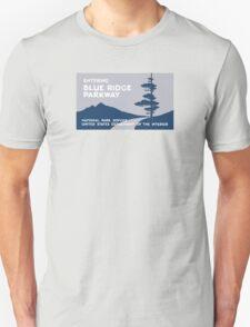 Blue Ridge Parkway Sign, VA & NC, USA T-Shirt