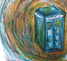 The TARDIS by nevs89