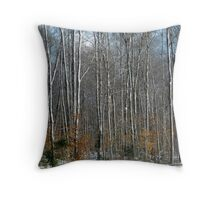 Winter Trees - Muskoka Throw Pillow