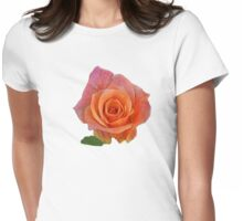 PEACH ROSE Womens Fitted T-Shirt