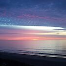 Sunset at Ocean City Maryland by astrochuck