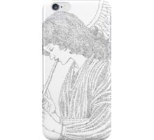 Angel of Music in Words iPhone Case/Skin