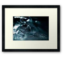 Abstract Macro #146 Framed Print