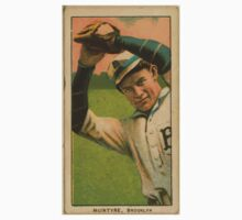 Benjamin K Edwards Collection McIntire Brooklyn Superbas baseball card portrait 001 One Piece - Long Sleeve