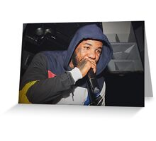 The Game performing live in Irvine CA - 2015 Greeting Card
