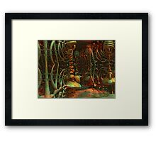 Lair Of The Creature Framed Print