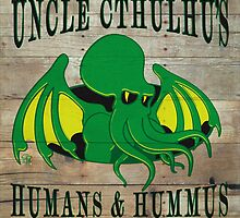 Uncle Cthulhu's Humans 'n' Hummus by GodfreyTemple