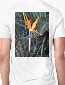BIRD OF PARADISE IN BLOOM Unisex T-Shirt
