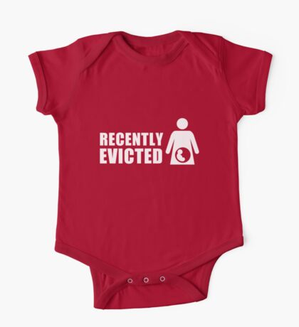 Recently Evicted [ Tshirt   iPad / iPhone Case & Print ] One Piece - Short Sleeve