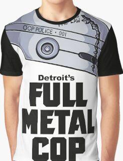 Full Metal Cop Graphic T-Shirt