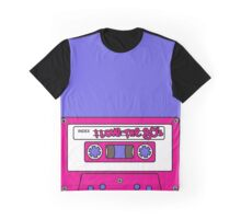 I love the 80's - pink tape Graphic T-Shirt