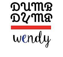 Red Velvet Wendy Dumb Dumb 2 Photographic Print