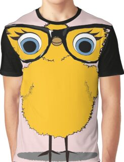 Geek Chic Chick Graphic T-Shirt