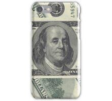 Money 100 dollar - case iPhone Case/Skin