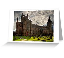 The Bruce's Resting Place Greeting Card