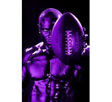 Purple Challenge Photographic Print