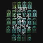 Keep Calm and Sonic Me by eclecticjustice