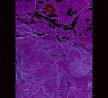 USGS Topo Map Washington State WA Lake Lawrence 241880 1959 24000 Inverted by wetdryvac