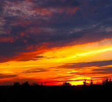 Firestorm sky by MarianBendeth