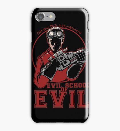 Dr. Horrible's Evil School of Evil iPhone Case/Skin