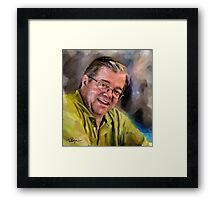 Chris Left This Morning Framed Print