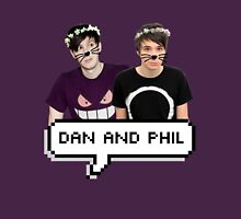 Dan and Phil - Flower Text Unisex T-Shirt