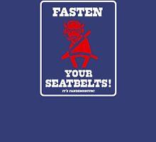 FASTEN YOUR SEATBELTS! Van Miller Tribute Unisex T-Shirt