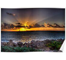 Sunrise. La Amada Marina Poster