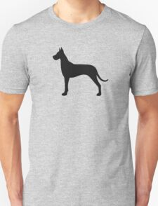Great Dane Silhouette(s) T-Shirt