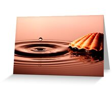 Pearl of Water Greeting Card