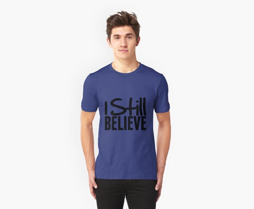 I Still Believe - Frank Turner Lyric T-Shirt by robbclarke