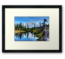 Serenity at Mount Shuksan Framed Print