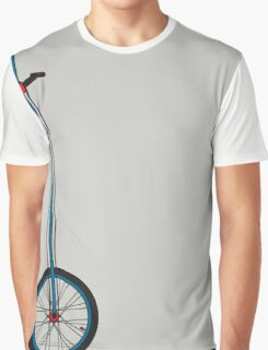Very Tall Unicycle Graphic T-Shirt