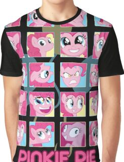 The Many Faces of Pinkie Pie Graphic T-Shirt