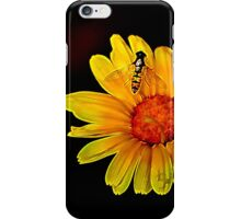 Be calm Bee happy iPhone Case/Skin