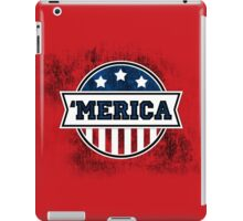 'MERICA T-Shirt. America. Jesus. Freedom. - The Campaign iPad Case/Skin