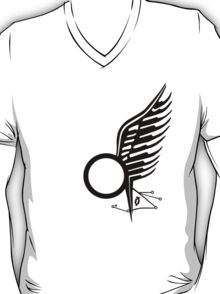 Viper Pilot Wing - Caprica in BLACK T-Shirt