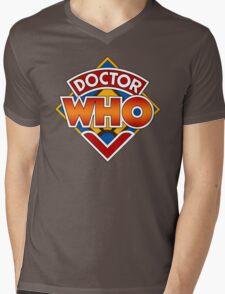 Classic Doctor Who Diamond Logo. Mens V-Neck T-Shirt