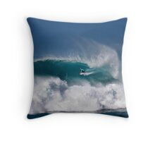 Dusty Payne At Vans Triple Crown of Surfing 2008 Throw Pillow