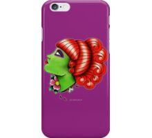 Miss Argentina Lady Head iPhone Case/Skin